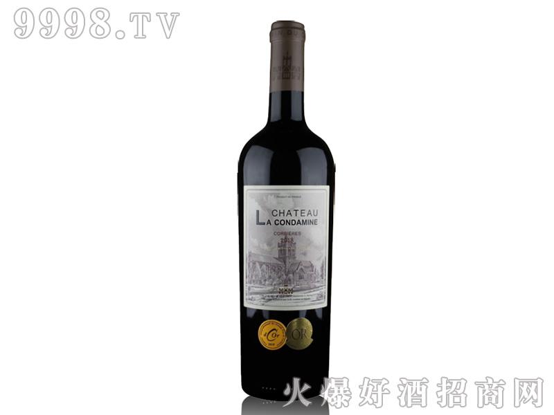 康德古堡干红葡萄酒【14.5度750ml】