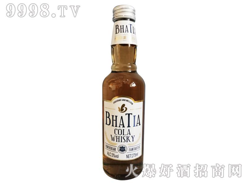 芭迪雅可乐威士忌味配制酒【3°275ml】