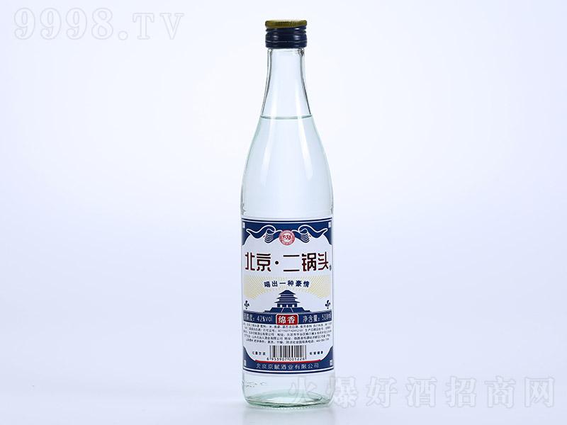 牛洱泉北京二锅头酒绵香浓香型白酒【42°500ml】