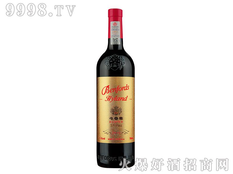 奔富海兰酒庄家族牌408西拉干红葡萄酒【14.5度750ml】