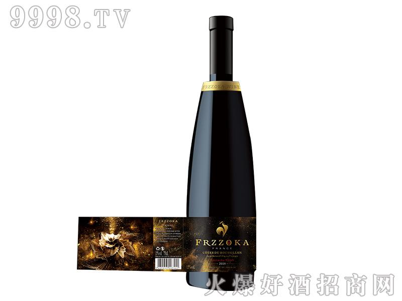 法兰风情.璀璨干红葡萄酒【15度750ml】