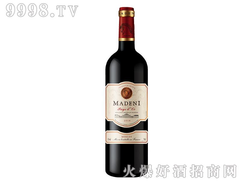 玛德尼美乐干红葡萄酒【13度750ml】