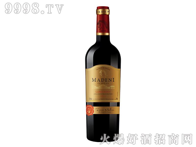 玛德尼珍藏干红葡萄酒【13.5度750ml】