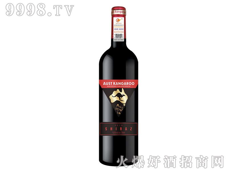 澳洲千亿袋鼠干红葡萄酒【13.5度750ml】