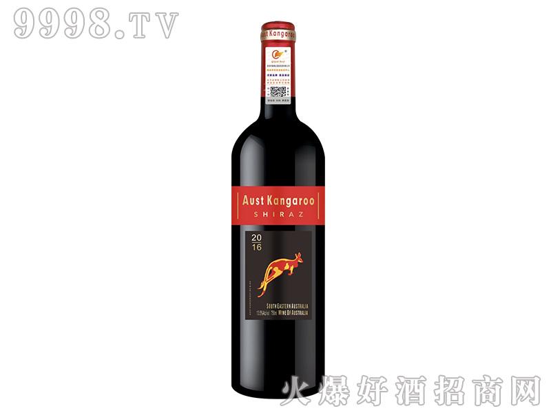 澳洲千亿袋鼠西拉干红葡萄酒【13.5度750ml】