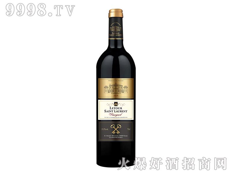 拉图圣奥伦.葡园干红葡萄酒【13.5度750ml】