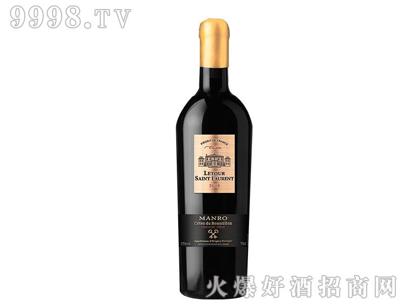拉图圣奥伦.庄园干红葡萄酒【15度750ml】