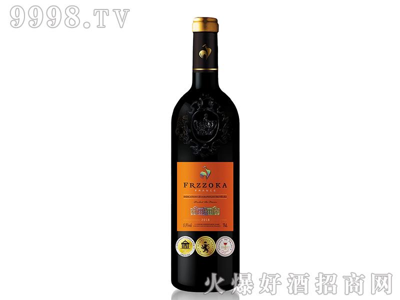 法兰风情典藏干红葡萄酒【13度750ml】
