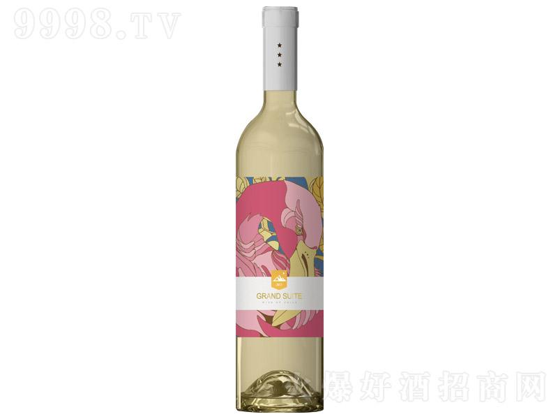 富雀・追梦鸟珍藏级半干白2019葡萄酒【12.5°750ml】