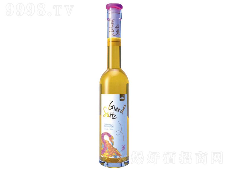 富雀・聚财鸟珍藏级晚收2019葡萄酒【12.5°375ml】