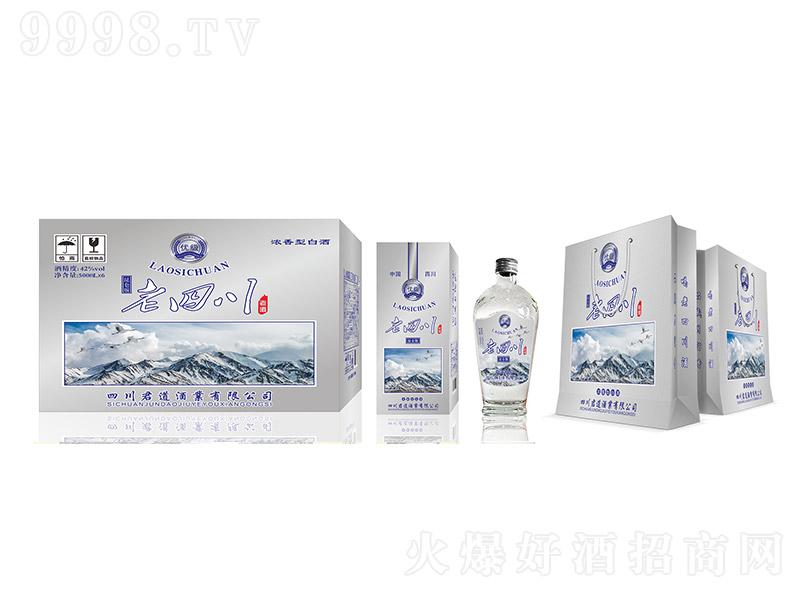 老四川酒(昆仑版)浓香型白酒【42度500ml×6】