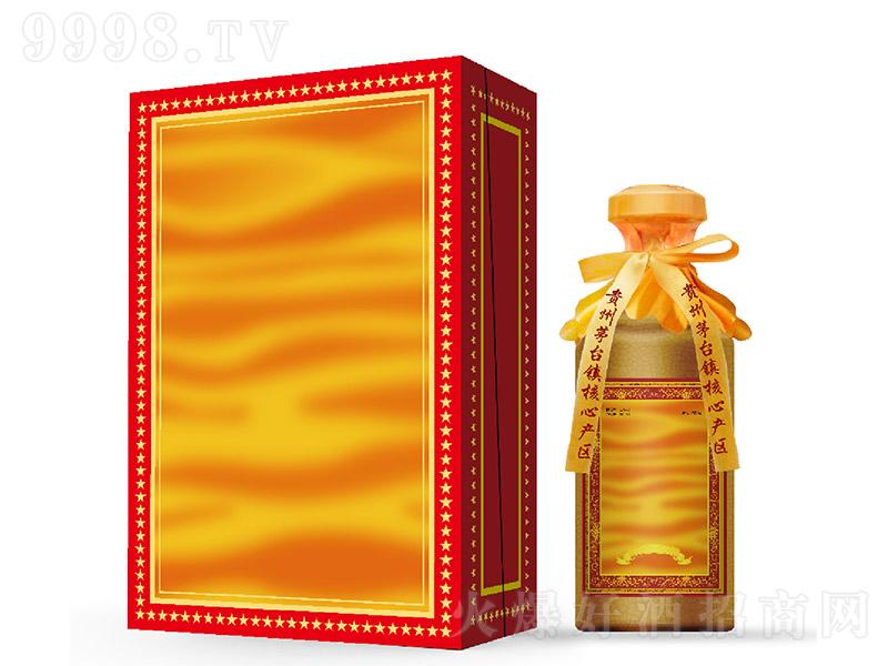 金酱收藏酒酱香型白酒黄盒【53度500ml】