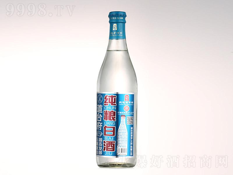 道台府纯粮白酒(新奇旋盖)浓香型白酒【52°500ml】
