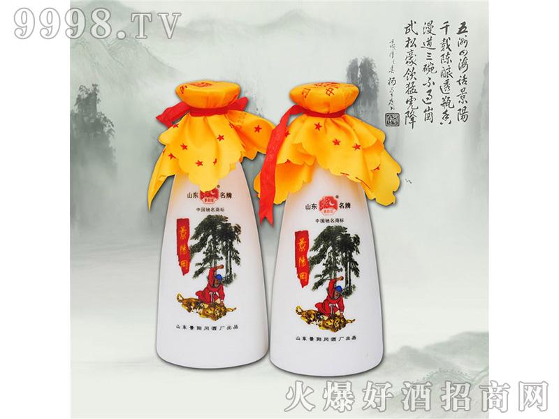 景阳冈小酒壶46度440ml浓香型白酒