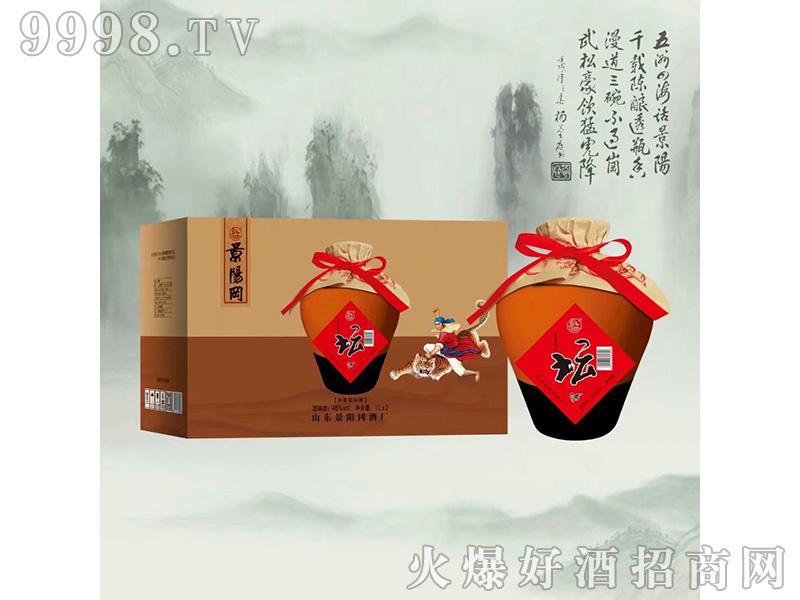 景阳冈酒46度1l浓香型白酒
