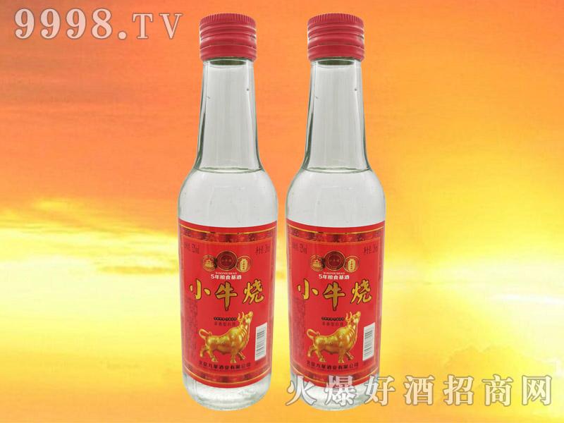 小牛烧白酒52°260ml浓香型白酒