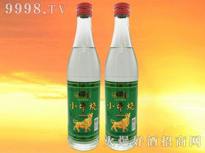 小牛烧白酒42°500ml浓香型白酒绿标