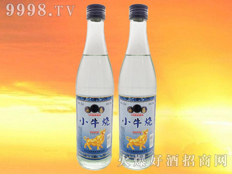 小牛烧白酒42°500ml浓香型白酒蓝标