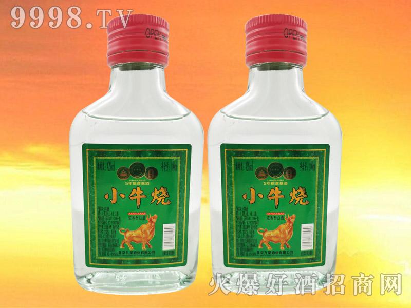 小牛烧白酒42°100ml浓香型白酒绿标