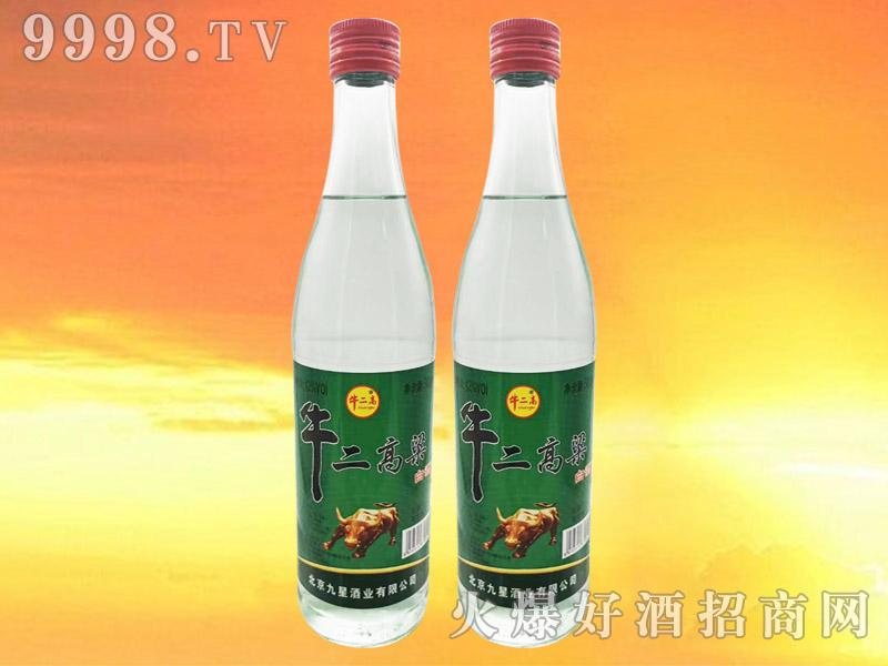 牛二高粱白酒42°500ml浓香型白酒