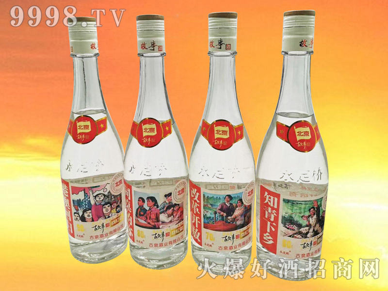永定桥北京故事酒42°500ml浓香型白酒
