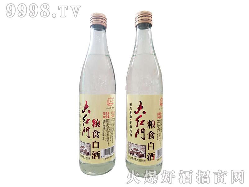大红门粮食白酒42度500ml浓香型白酒