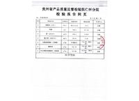 检验报告-贵州黔酒股份有限公司