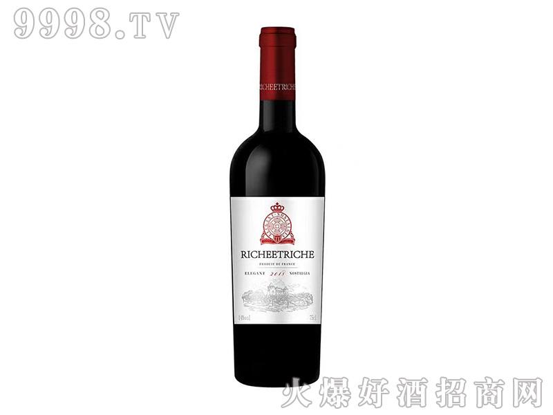 富贵�F上品干红葡萄酒14度750ml