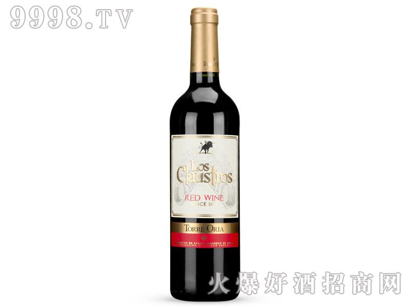 12°西班牙克劳斯特罗银标干红葡萄酒750ml