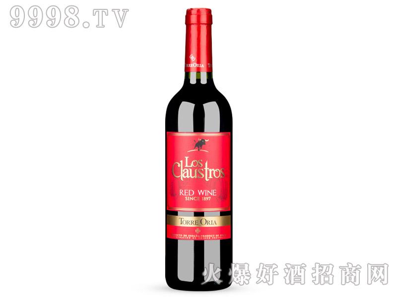 12°西班牙克劳斯特罗红标干红葡萄酒750ml