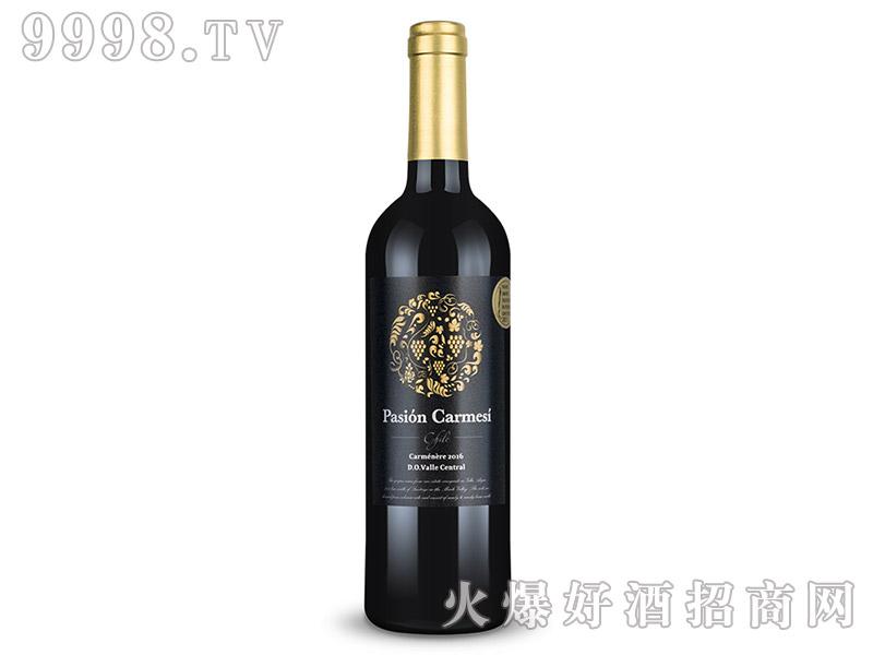 12.5°智利卡尔梅西卡曼尼干红葡萄酒750ml