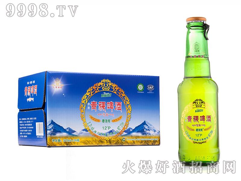 青稞啤酒玻璃瓶5.2度210ml