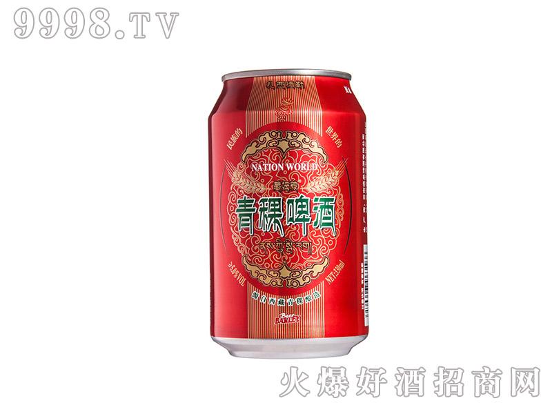 青稞啤酒罐装5度330ml