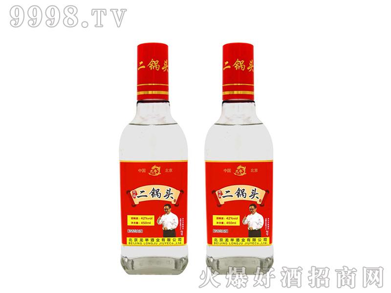 龙举二锅头42度450ml浓香型白酒
