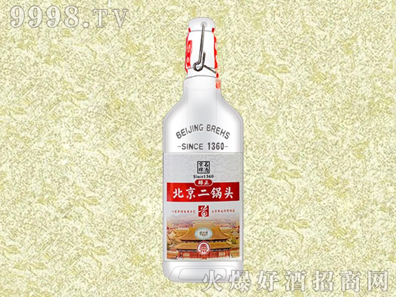 北京二锅头・出口小方瓶(红)【42°500ml】