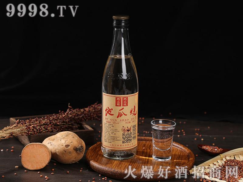 地瓜烧酒浓香型白酒【52度480ml】