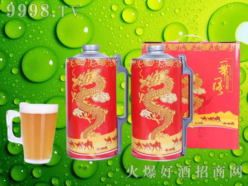中国龙精酿原浆礼盒装2L×2桶