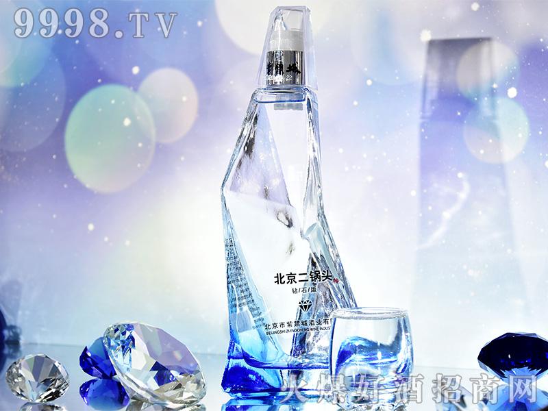 北京二锅头钻石版(蓝)瓶42°480ml清香型白酒