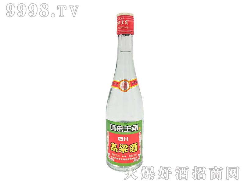 味来主角高粱酒52度500ml浓香型白酒