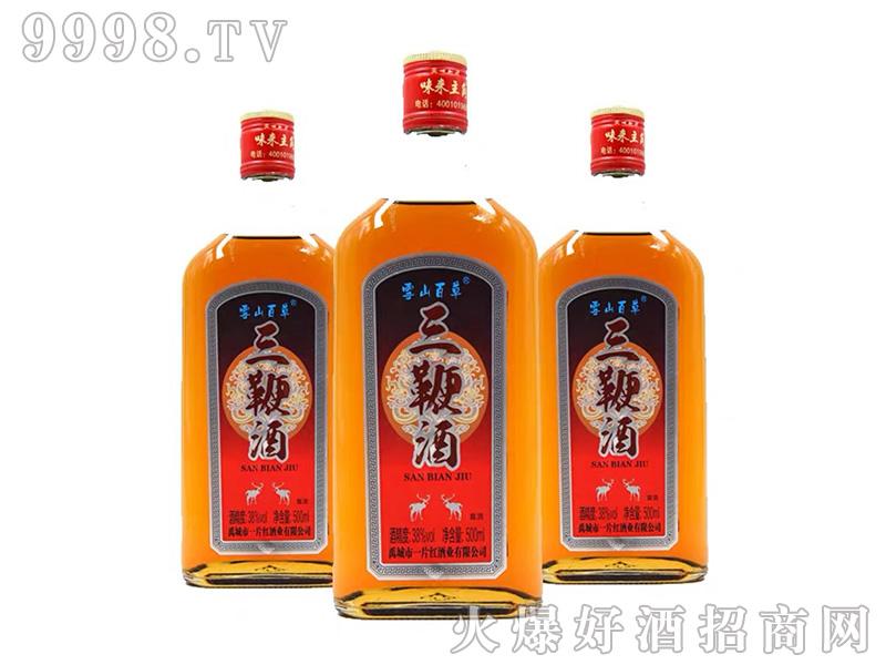 雪山百草三鞭酒38度500ml