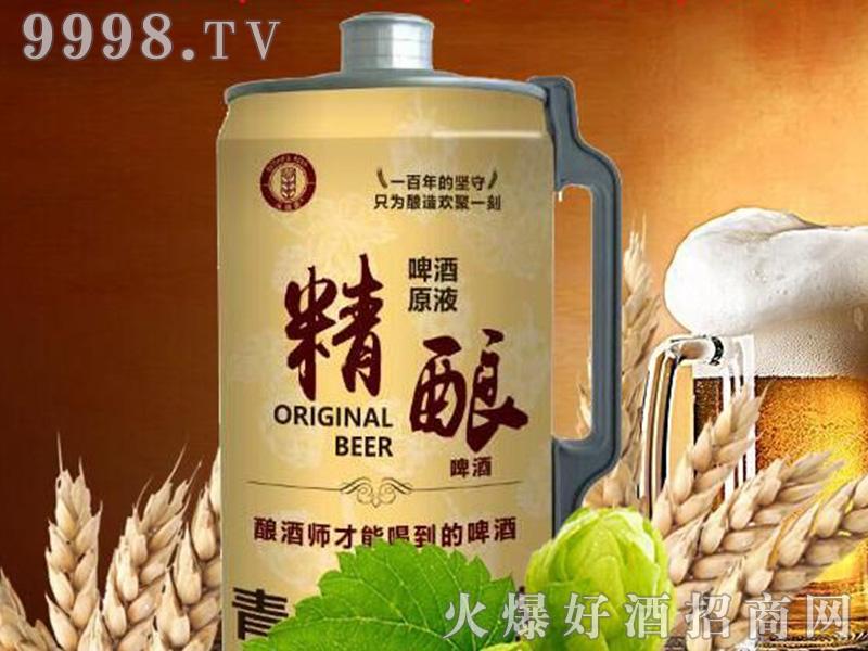青岛崂山泉头道麦精酿啤酒【11度2L】