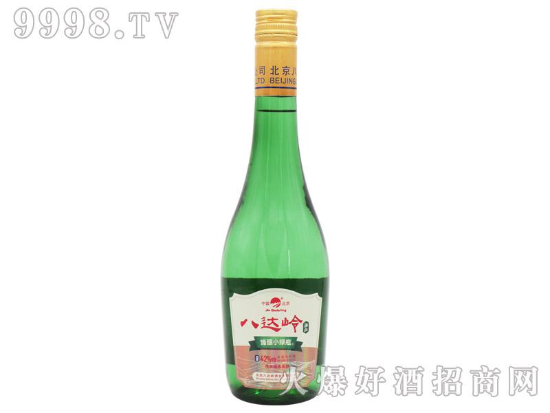 北京二锅头酒臻酿小绿瓶酒浓香型白酒【42°480ml】