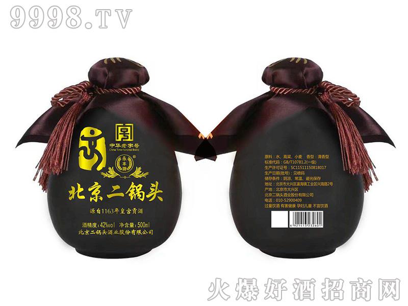 永丰北京二锅头・小黑坛清香型白酒【42°500ml】