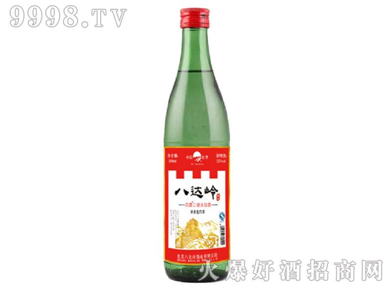 八达岭京爵二锅头酒浓香型白酒【52°500ml】