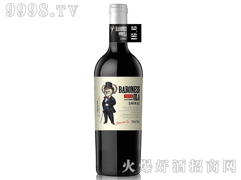 澳拉女爵堡・考拉一号西拉干红葡萄酒【16.6°750ml】