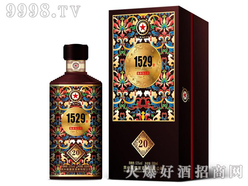 龙国宴酒20黑酱香型白酒【53°500ml】