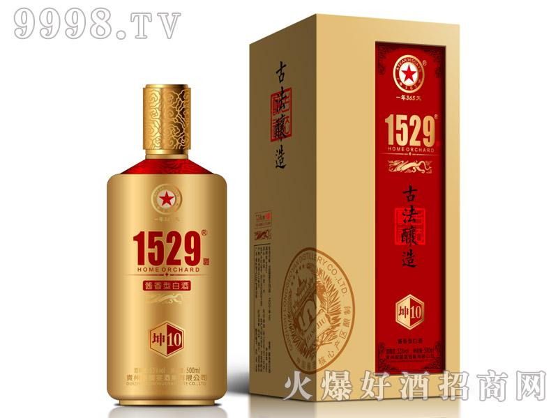 龙国宴坤酒10酱香型白酒【53°500ml】