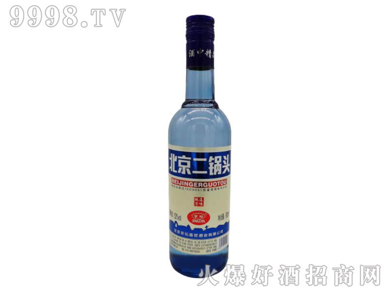 京坛北京二锅头酒(蓝瓶)浓香型白酒【52°500ml】