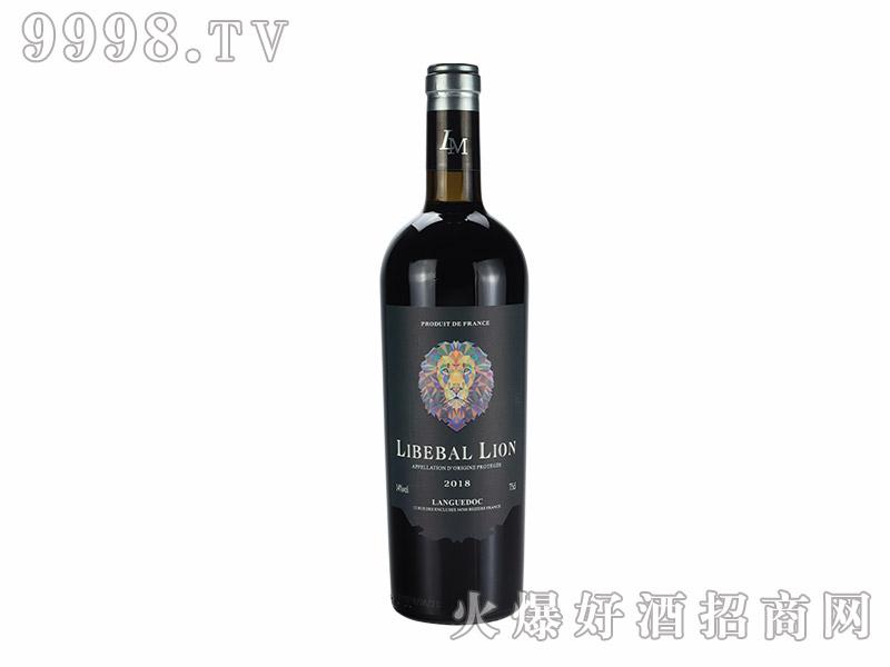 自由之狮-伯纳德干红葡萄酒【14度750ml】