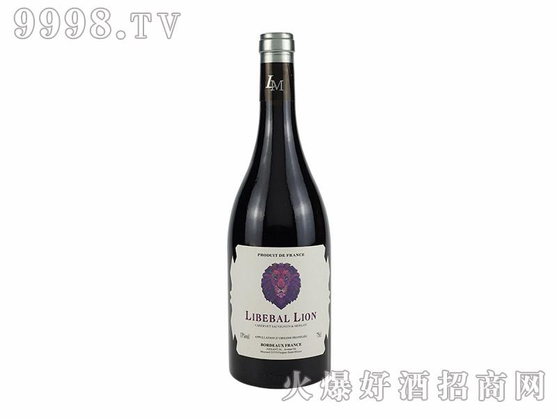 自由之狮-莫泊桑干红葡萄酒【13度750ml】